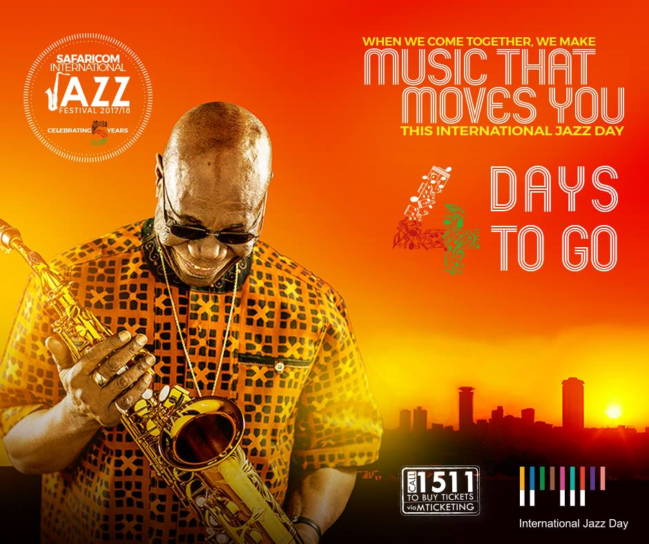 Manu Dibango, Safaricom Jazz