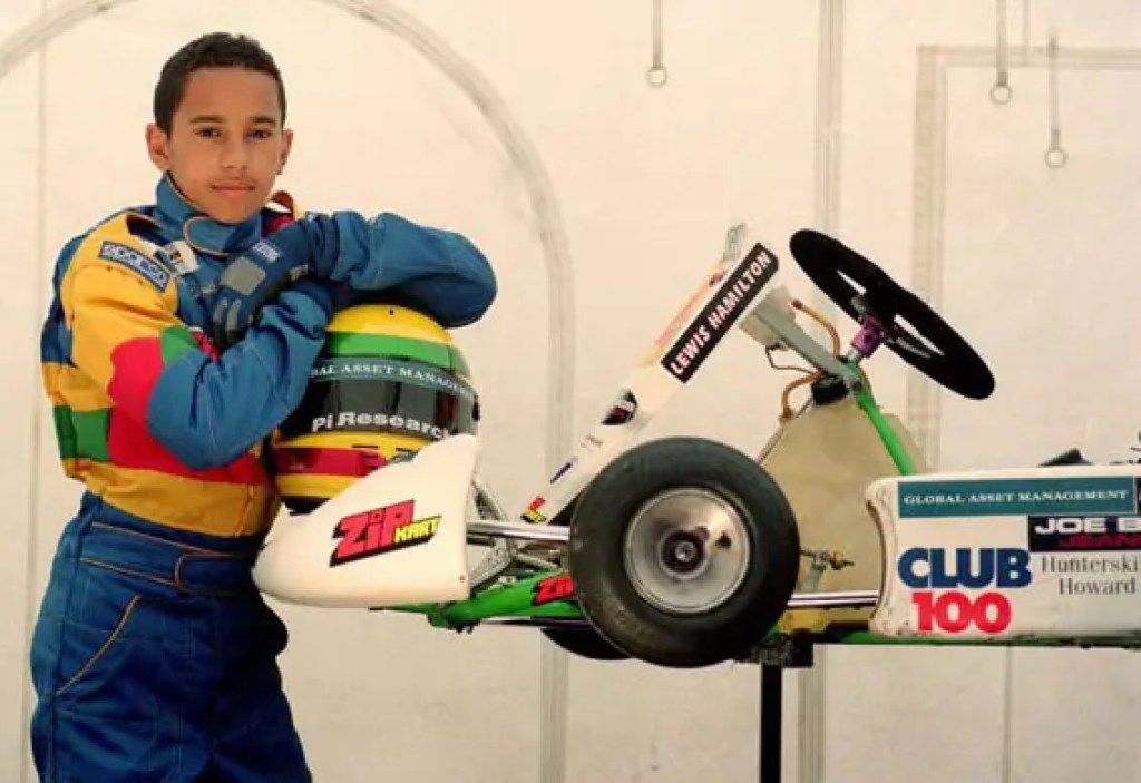 Lewis Hamilton as a 12 year old go-kart champion in October 1997. Lewis Carl Hamilton (born January 7, 1985 in Hertfordshire, England) is an British Formula One racing driver from England. He will drive for the McLaren team in the 2007 Formula One season.