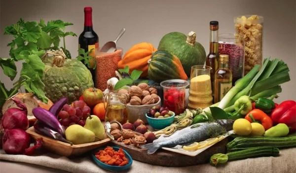 La dieta mediterranea.