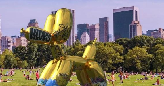 Vandalismo virtuale contro il predominuio delle multinazionali sull'uso degli spazi pubblici