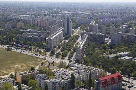 XV. kerület látkép