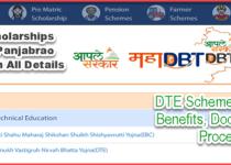 DTE Rajarshi Chhatrapati Shahu Maharaj Scholarship (EBC) & Dr Panjabrao Deshmukh Vastigruh Nirvah Bhatta Yojna Details. 1
