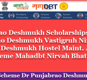 Dr. Panjabrao Deshmukh Scholarships Eligibility, Application Process, Benefits, Last Date & Documents List . 7