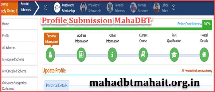 How Do I Change My Profile On MahaDBT ! Maharashtra Scholarship 2020. 1