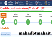 How Do I Change My Profile On MahaDBT ! Maharashtra Scholarship 2021. 3