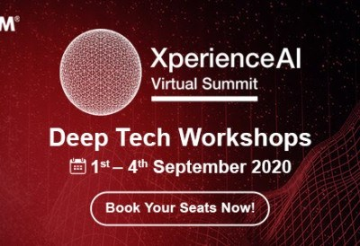 Register for Free NASSCOM Xperience AI Virtual Summit | Deep Tech Workshops | Sep 1- Sep 4