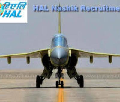 Apply for Technician Apprentice at HAL Nashik before 25-2-21