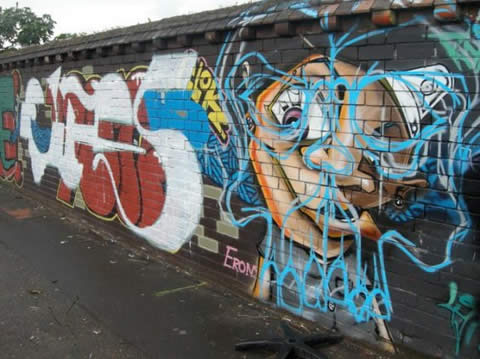 Durban Graffiti Gangs