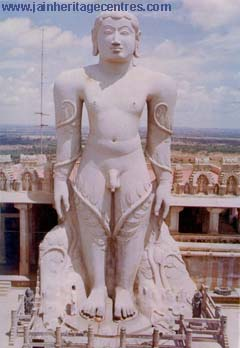 Lord Bahubali at Shravanabelagola