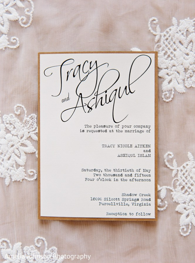 Modern Indian Wedding Invitations Photo 68172