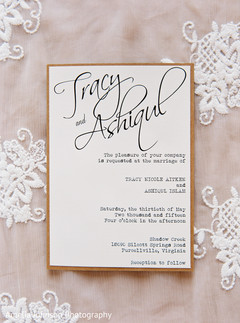 Red And Cream Indian Wedding Invita