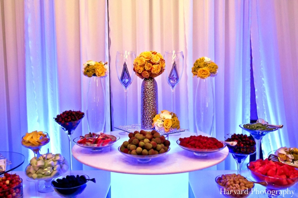 Indian Wedding Menu And Table Setting Ideas