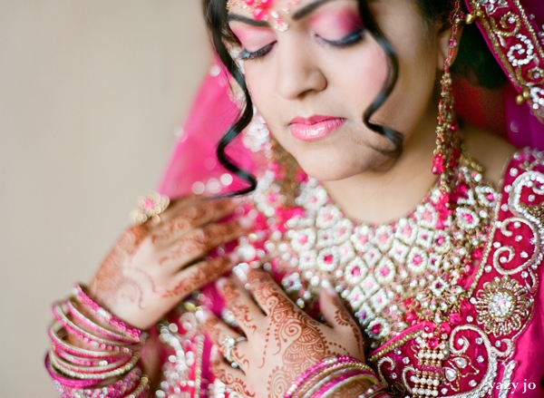 Perfectly Pink Indian Wedding Prep By Yazy Jo Itasca