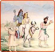 Marriage of Shiva and Shakti