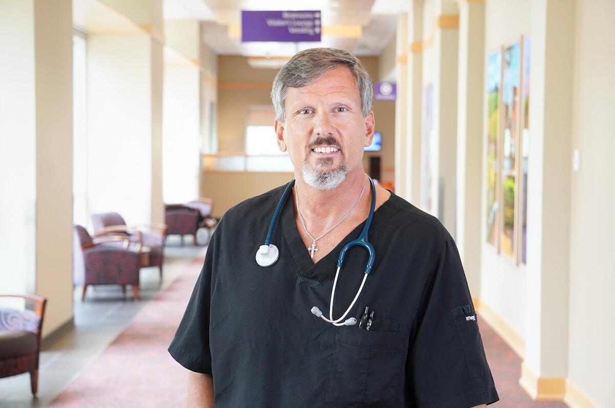 Photo of David Thompson, RRT-NPS Director of Cardiopulmonary Services