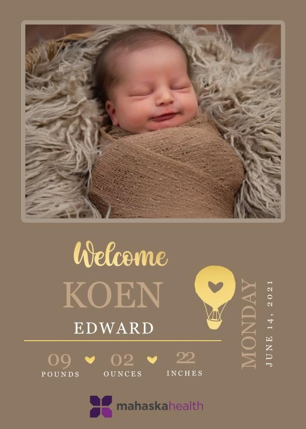 Welcome Koen Edward! 8
