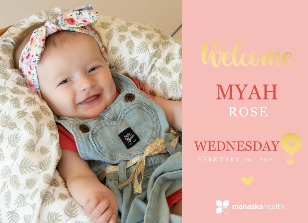 Welcome Myah Rose! 8