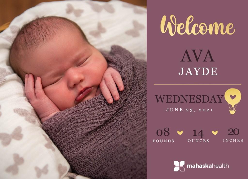 Welcome Ava Jayde! 8