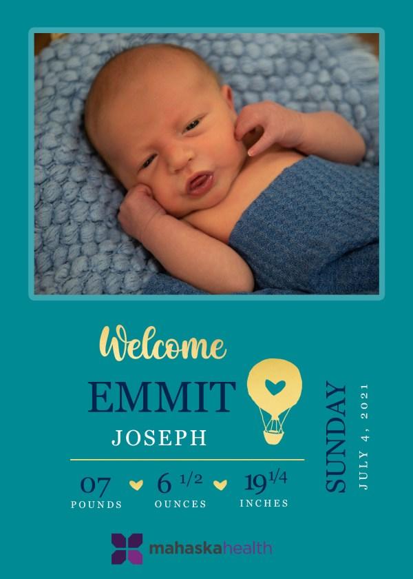 Welcome Emmit Joseph! 8