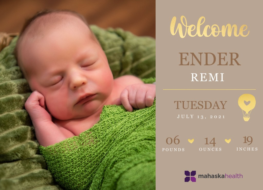 Welcome Ender Remi! 8