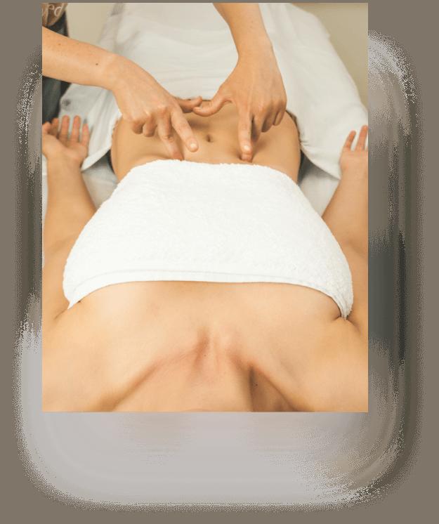 Masajes para metabolismo y digestión