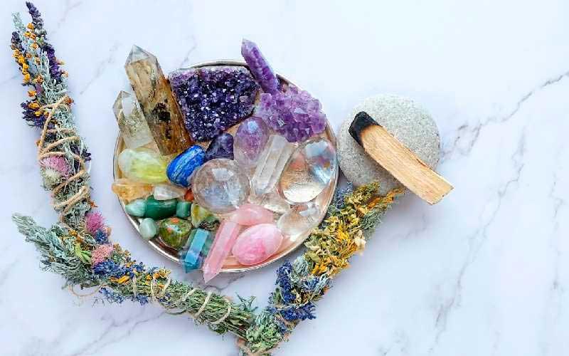El Poder de los Cristales en la Medicina Ayurveda