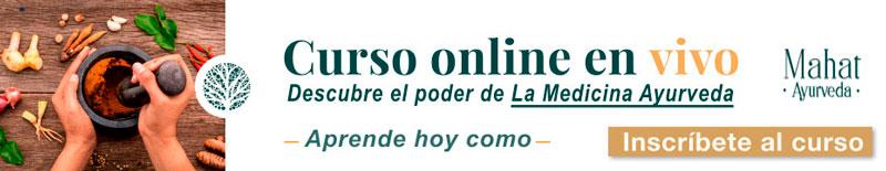 Curso Ayurveda online
