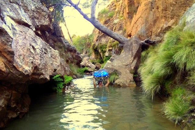 Le Makay en mode aventures en canyon à Madagascar
