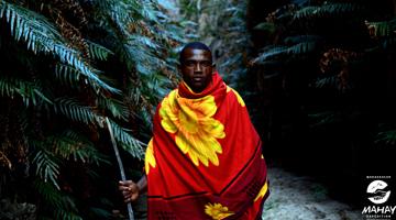 Homme de l'ethnie Bara de Madagascar