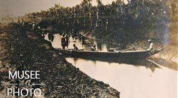 Travaux creusement du canal des Pangalanes à Madagascar