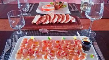 La gastronomie malgache au Five Senses Lodge