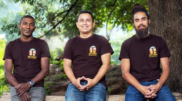 Les membres fondateurs de l'OND Dry Forest