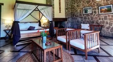 Les chambres luxe du Relais de la Reine à Madagascar