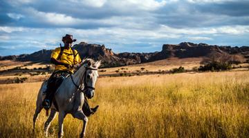Randonnée équestre ou une balade à cheval à Madagascar