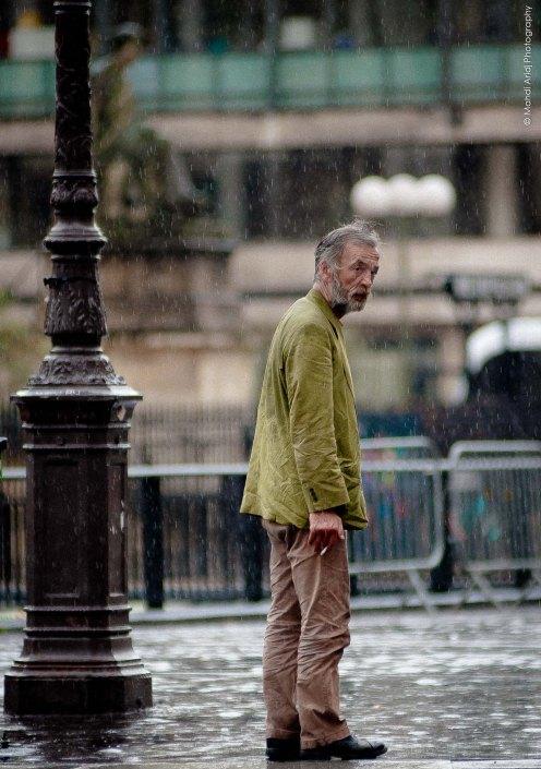 Under the rain - Paris III ème - Street photography