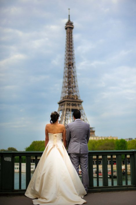 photographe de mariage wedding photographer - eiffel tower