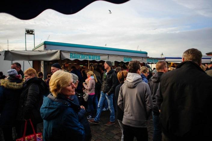 Hamburg fish market - Fischmarkt 18
