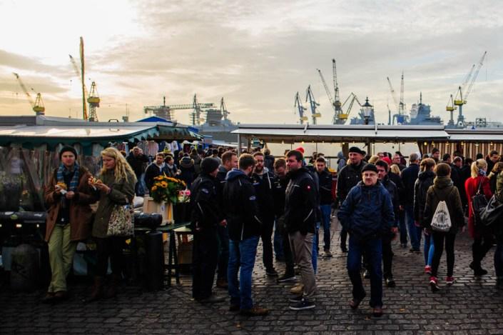 Hamburg fish market - Fischmarkt 19