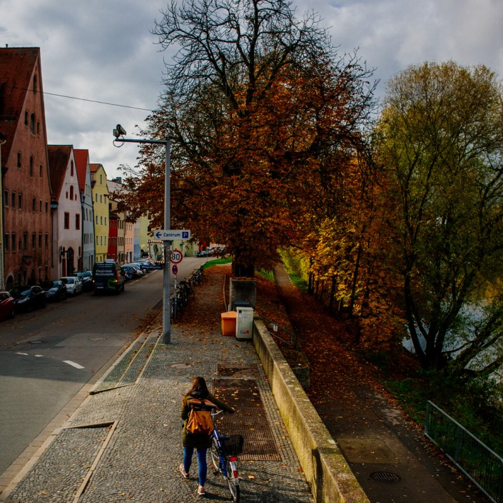 Visiting Regensburg in Autumn 1