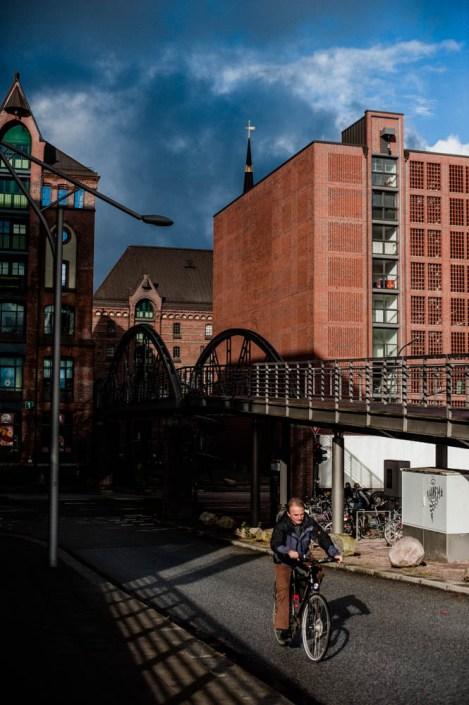 Fahrade Speicherstadt - Hamburg