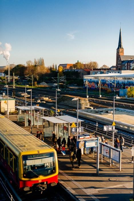 Warschauer Straße S-Bahnhof