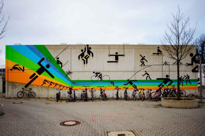 Village olympique de Munich reconverti en cité universitaire 16