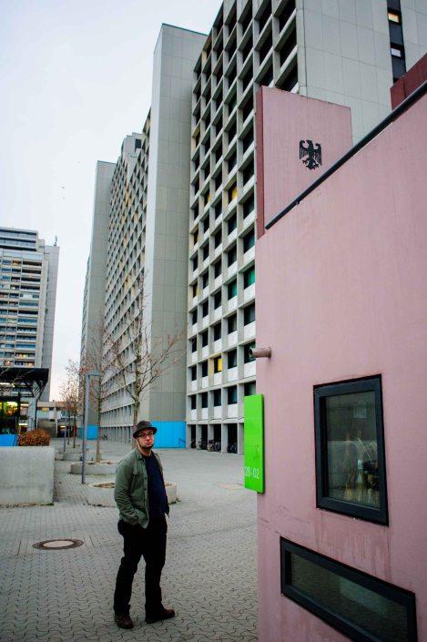 Village olympique de Munich reconverti en cité universitaire 27