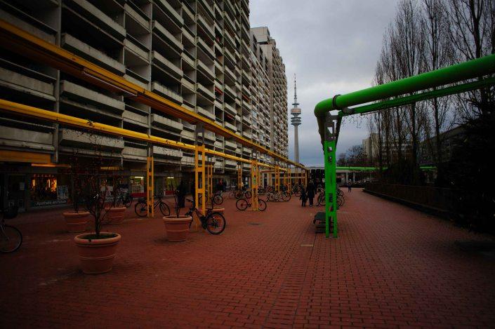 Village olympique de Munich reconverti en cité universitaire 5