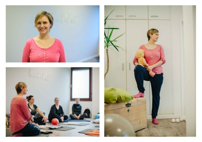 Midwife giving sport class lessons to her patients - The midwifery project - Hebammenprojekt - Projet sur les sages-femmes en Allemagne