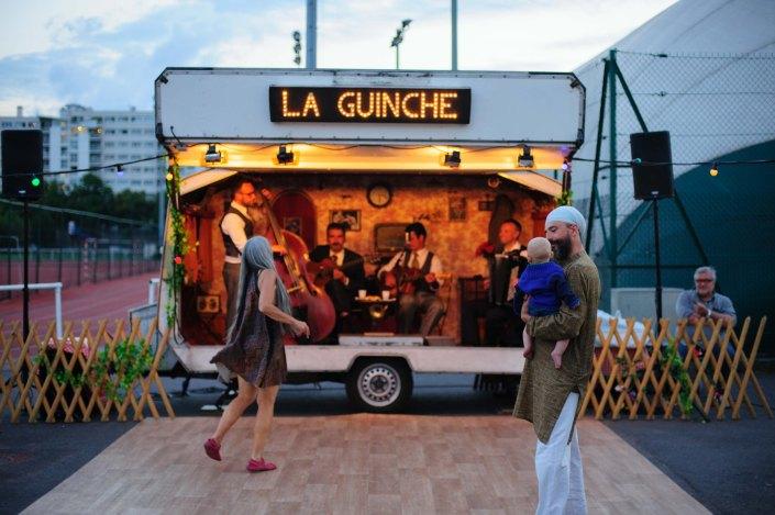 La guinche - Jazz Festival Saint Ouen