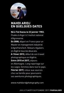 Mahdi ARIDJ - Biographie