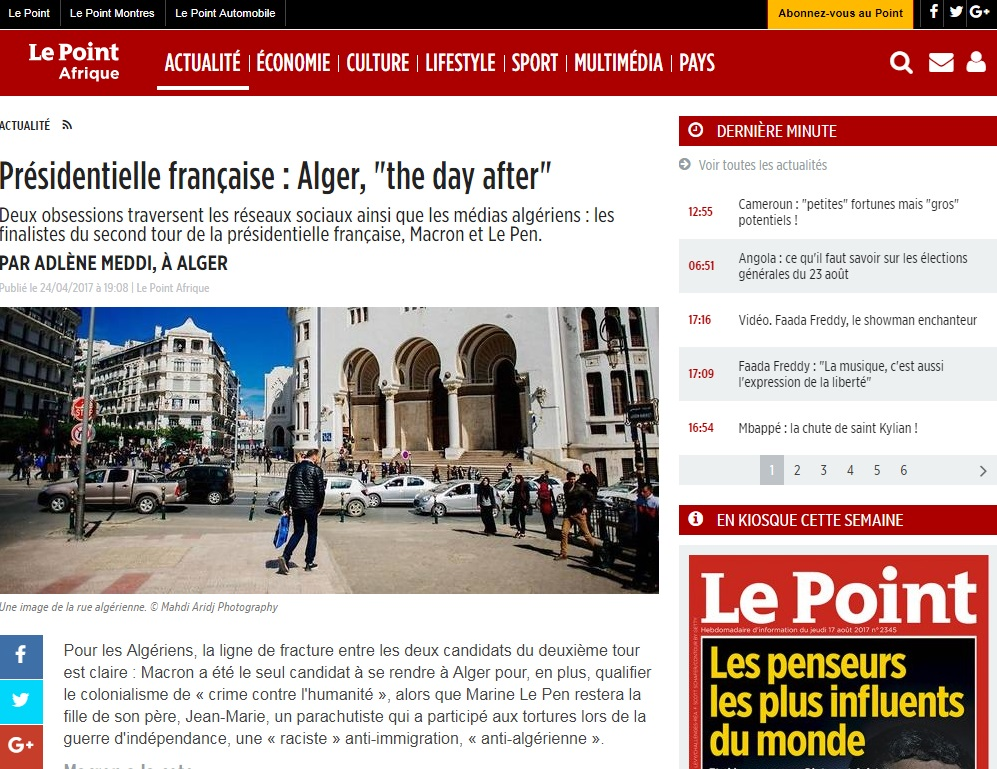 Copyright et non-respect des droits d'auteurs en Algérie - Le point magazine