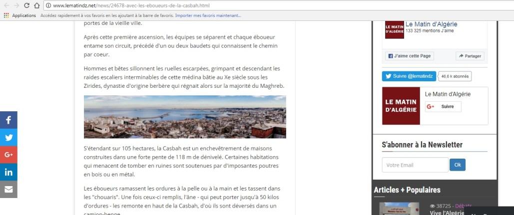 Copyright et non-respect des droits d'auteur en Algérie 13