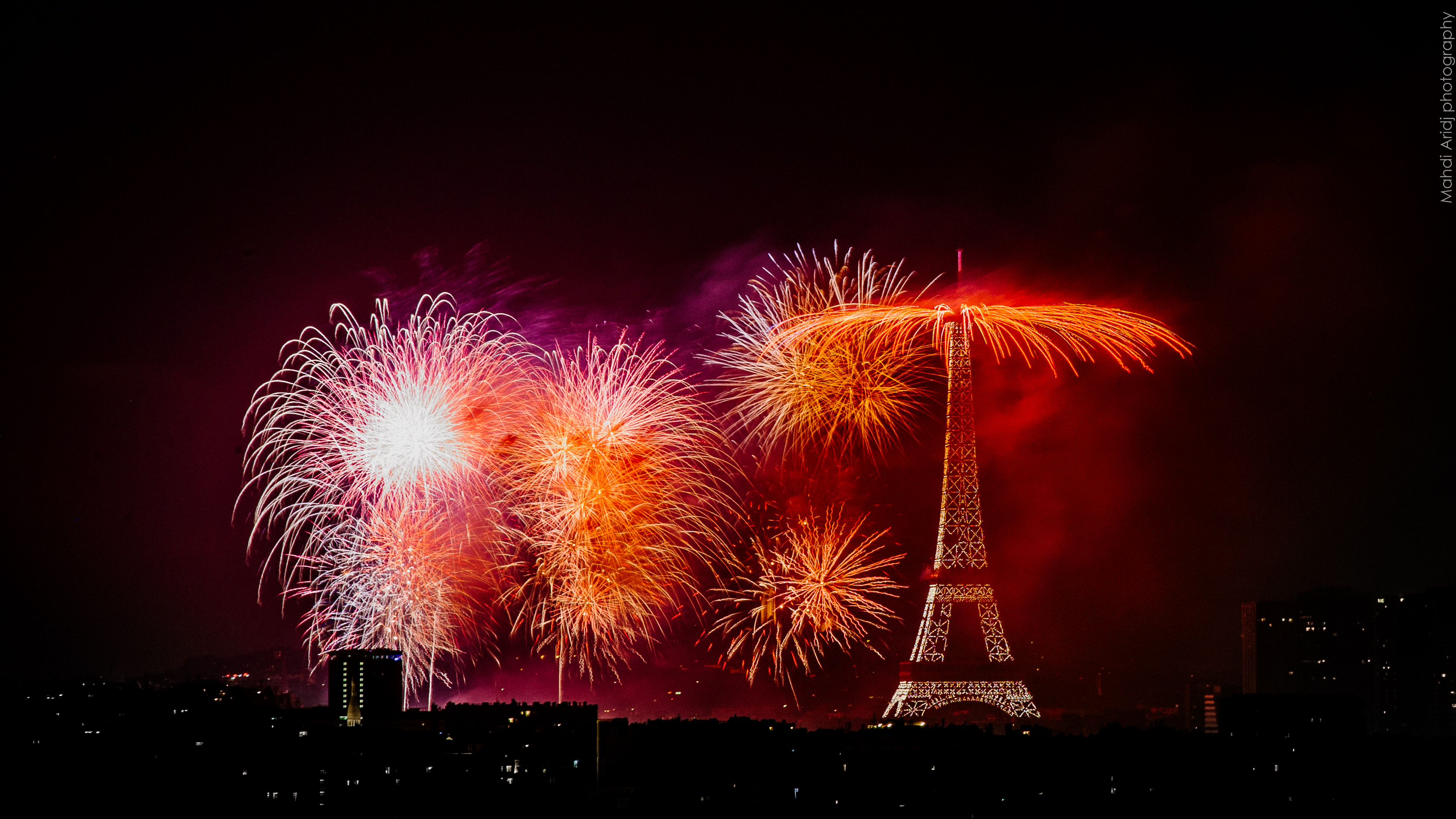 Feu d'artifice du 14 Juillet 2018 | Paris 6